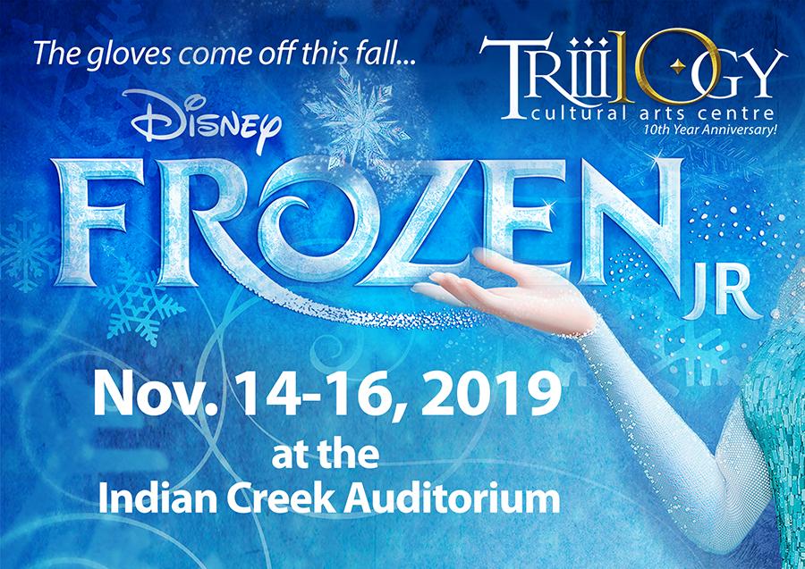 Frozen Jr  Tickets – Trilogy Cultural Arts Centre